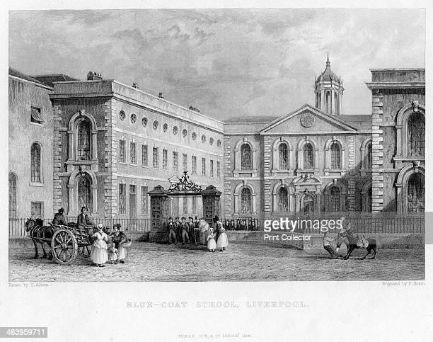 BlueCoat School Liverpool 1834