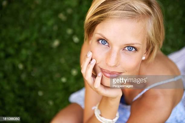 Women blue blonde hair eyes Best Hair