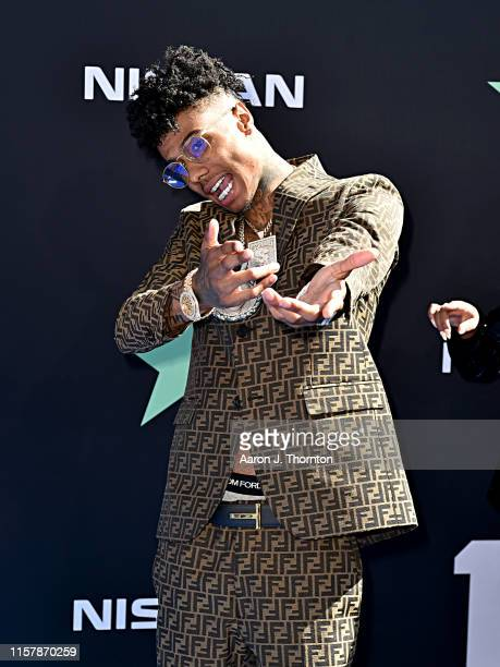 Blueface attends the 2019 BET Awards on June 23 2019 in Los Angeles California
