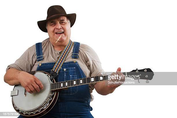 Bluegrass Banjo Jogador Homem