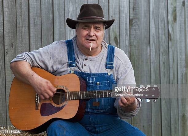 Bluegrass Guitarist Man
