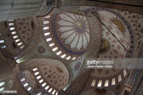 blue-mosque-2013m - james popple stock photos and pictures