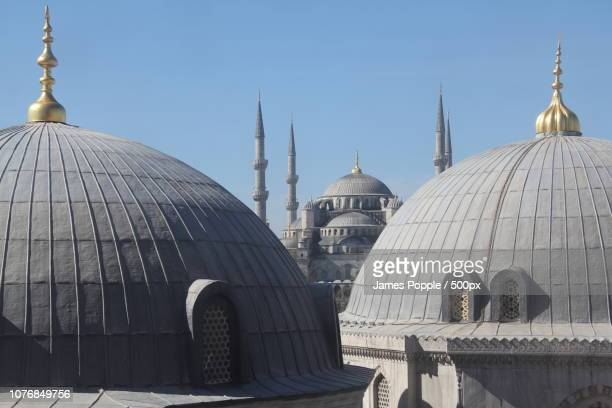 blue-mosque-2013zh - james popple stock photos and pictures