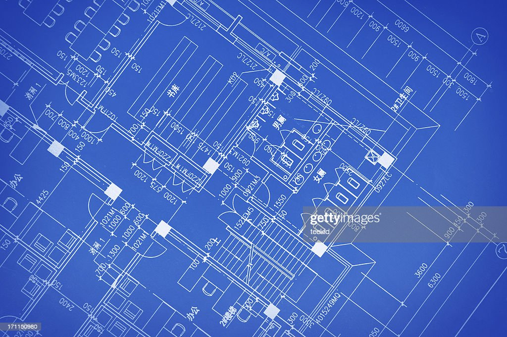 Blueprint for constructionengineering concept document stock photo blueprint for construction engineering concept document stock photo malvernweather Choice Image