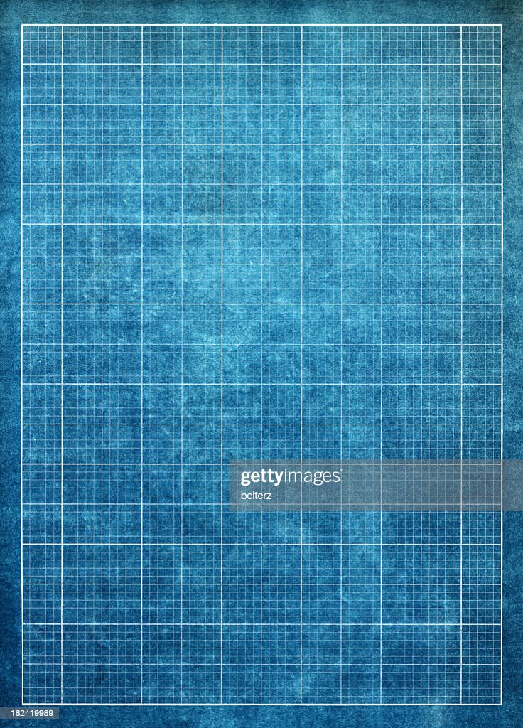 Vector robotic arm symbol on blueprint paper background robot hand blueprint graph paper background stock photo malvernweather Image collections