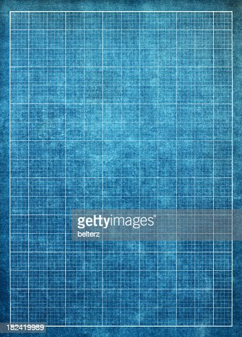 Blueprint graph paper background stock photo getty images malvernweather Images