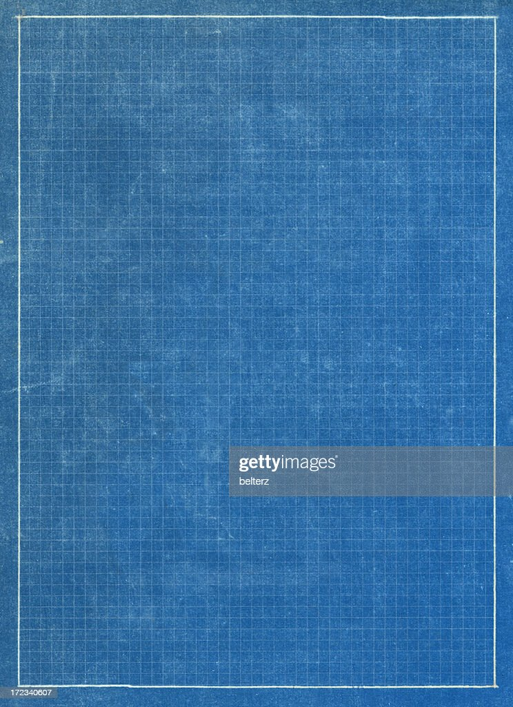 Blueprint grid paper stock photo getty images blueprint grid paper stock photo malvernweather Images