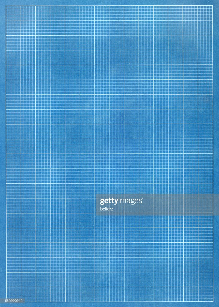 Blueprint grid paper stock photo getty images blueprint grid paper stock photo malvernweather Choice Image