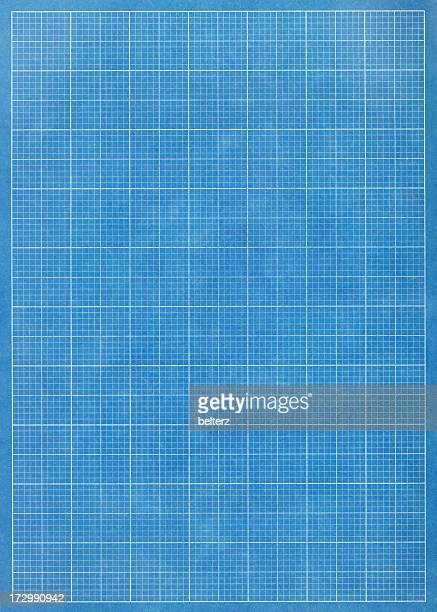 Blueprint stock photos and pictures getty images blueprint grid paper malvernweather Gallery