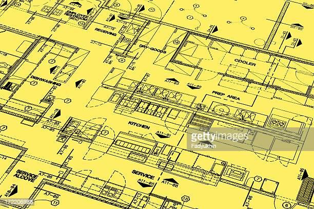 Blueprint Of A Restarant