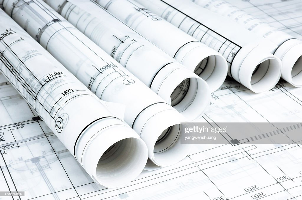 blueprint : Stock Photo