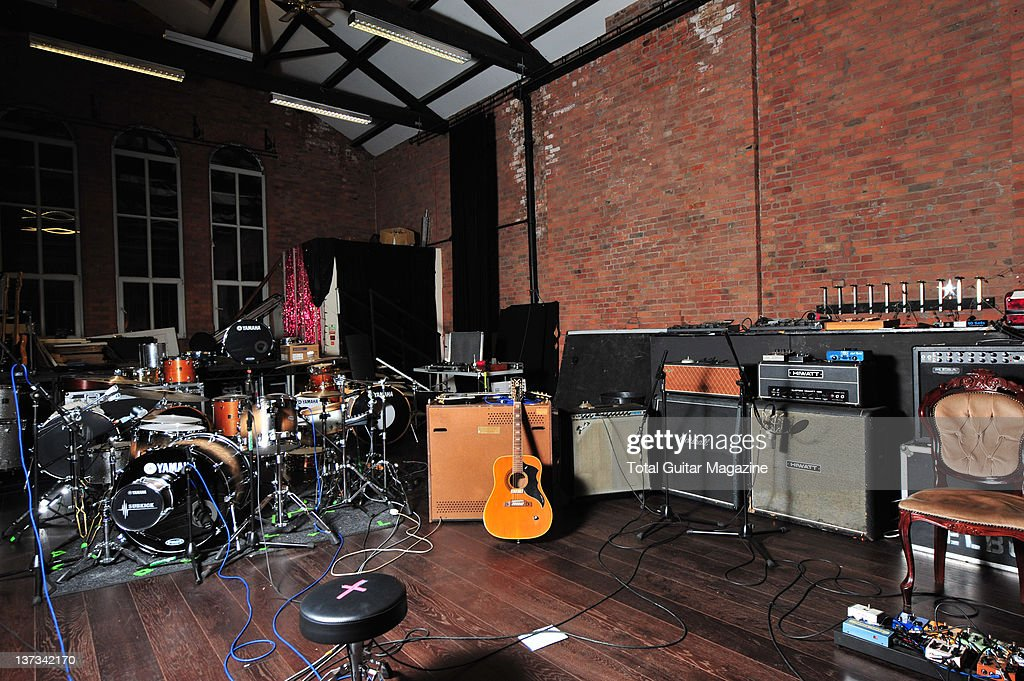 Mark potter at blueprint studios pictures getty images blueprint studios home of british band elbow manchester november 16 2010 malvernweather Image collections