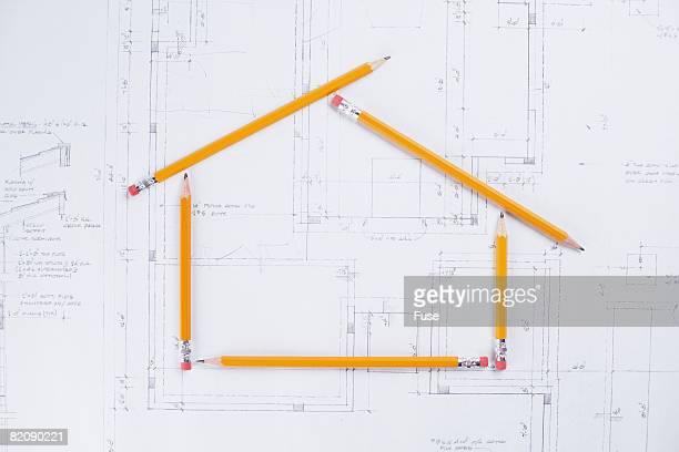 Blueprints and Pencil