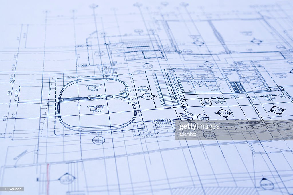 Blueprints : Stockfoto