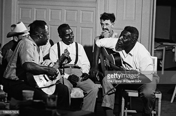 Blues and folk legends including Bukka White, Kilby Snow , Reverend Pearly Brown, Willard Watson, and Howlin' Wolf share musical styles and...