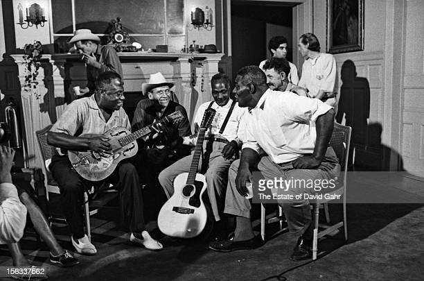 Blues and folk legends including Bukka White, Kilby Snow, Reverend Pearly Brown, Willard Watson, and Howlin' Wolf share musical styles and...