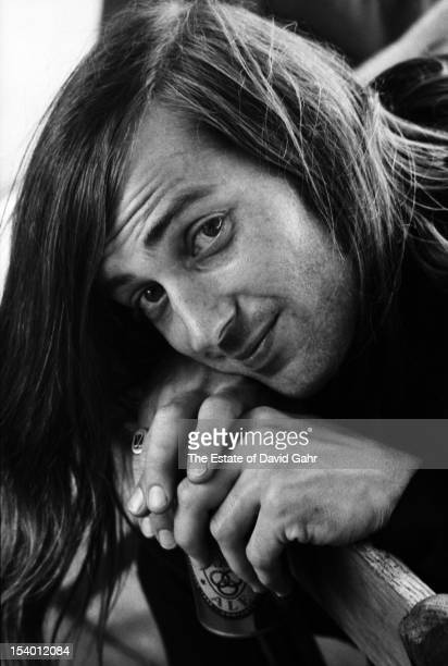 Blues and rock guitarist Sam Andrew of the rock group Big Brother and the Holding Company poses for a portrait at the Newport Folk Festival in July...