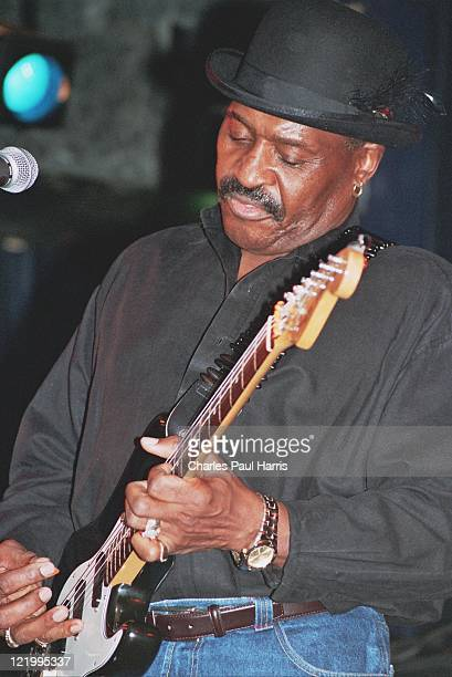 Blues artist Charles 'Blues Hog' Hayes performs at the Blues Estafette,in November 12, 2004 in Utrecht, Holland.