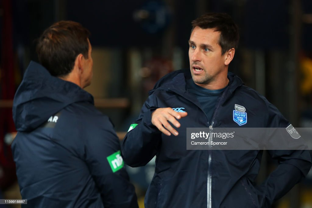 New South Wales Blues Training Session : News Photo