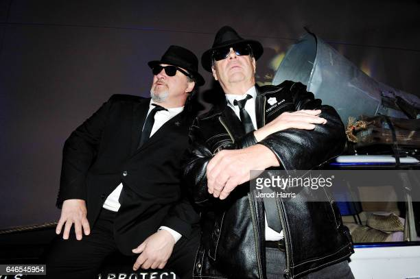 Blues Brothers Jim Belushi and Dan Aykroyd host the Grand Opening of House Of Blues Anaheim on February 28 2017 in Anaheim California