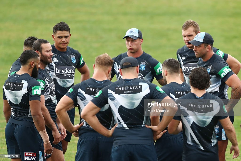 New South Wales Blues State of Origin Training Session : News Photo