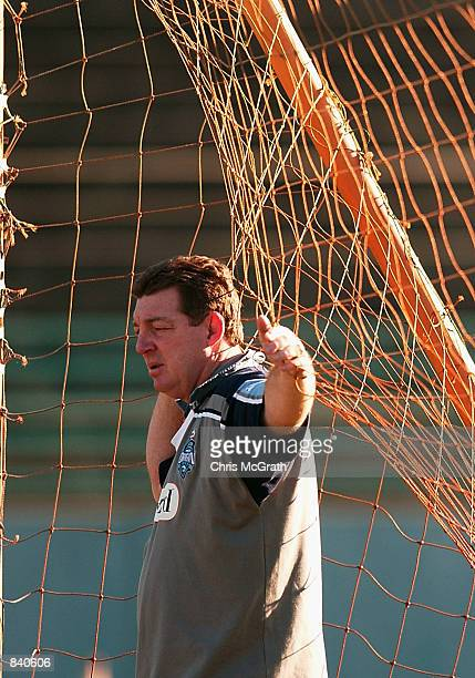 Blues coach Phil Gould during NSW Blues training session ahead of the third and deciding NRL State of Origin match Training was held at ES Marks...