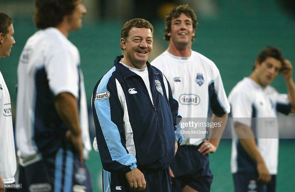 NSW Blues Training : News Photo