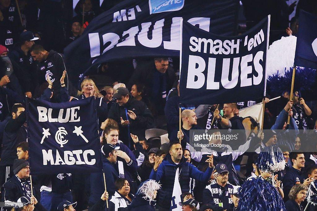 AFL Rd 11 - Carlton v Brisbane : News Photo