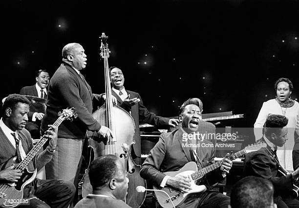 Blues greats perform on CBCTV's The Blues a Festival special starring among others Willie Dixon Muddy Waters Otis Spann and Mable Hillery was...