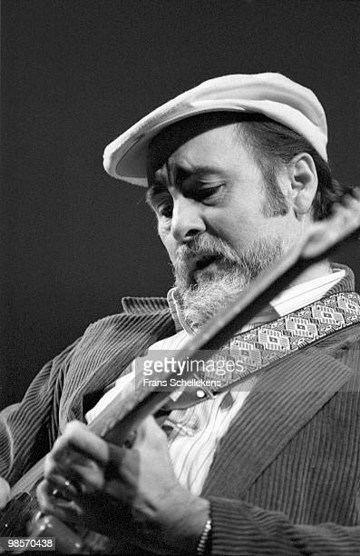 Blues guitarist Roy Buchanan performs live at Paradiso in Amsterdam, Netherlands on February 20 1985