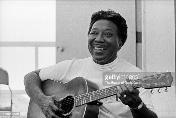 blues guitarist singer and songwriter muddy waters performs at the news photo getty images. Black Bedroom Furniture Sets. Home Design Ideas