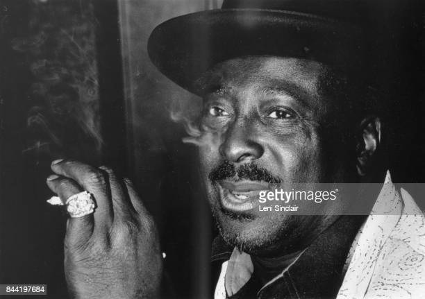Blues legend Albert King on a performance break at Ethel's Cocktail Lounge on Mack Avenue in Detroit in January 1978