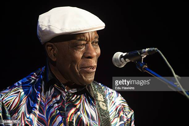 Blues legend Buddy Guy Performs At Eventim Apollo In Londonat Eventim Apollo on July 1 2016 in London England