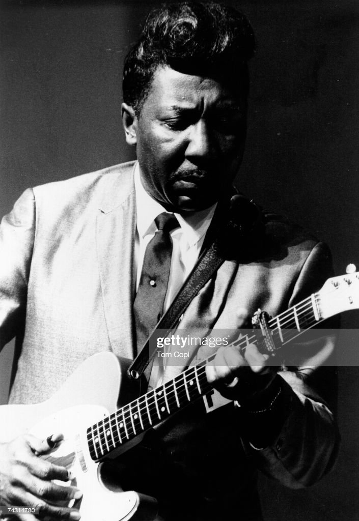 Blues legend Muddy Waters performs at the Newport Folk Festival in July 1967 in Newport, Rhode Island.