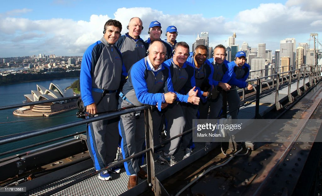 BridgeClimb Sydney And NSW Origin Legends Launch New Climbing Suit