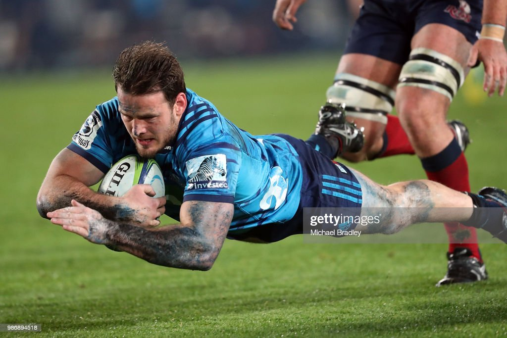Super Rugby Rd 17 - Blues v Reds : News Photo