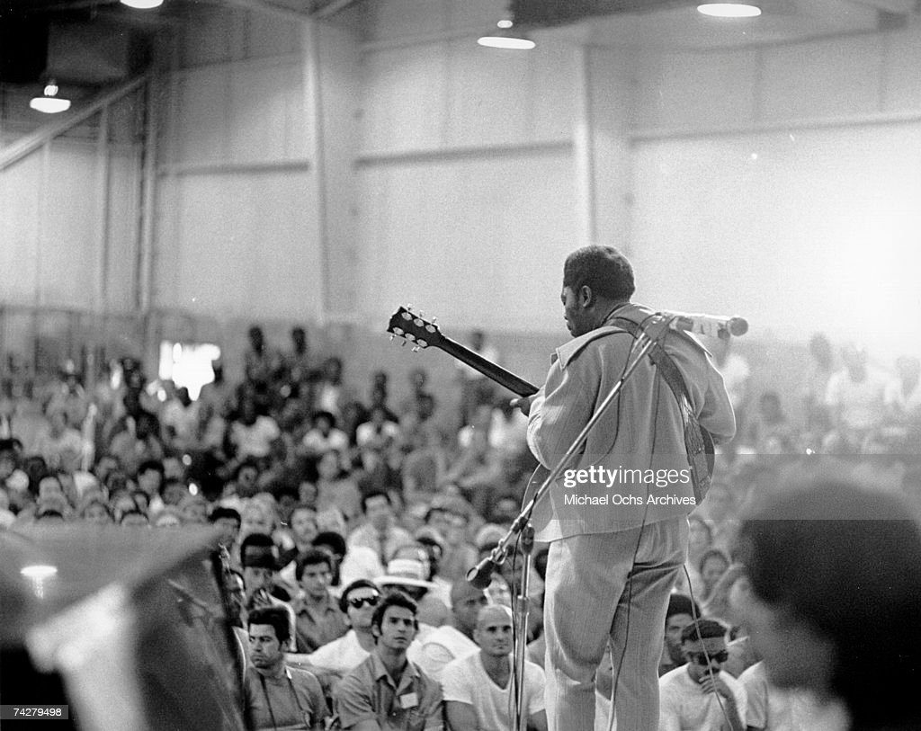 B.B. King At Chino State Prison : News Photo