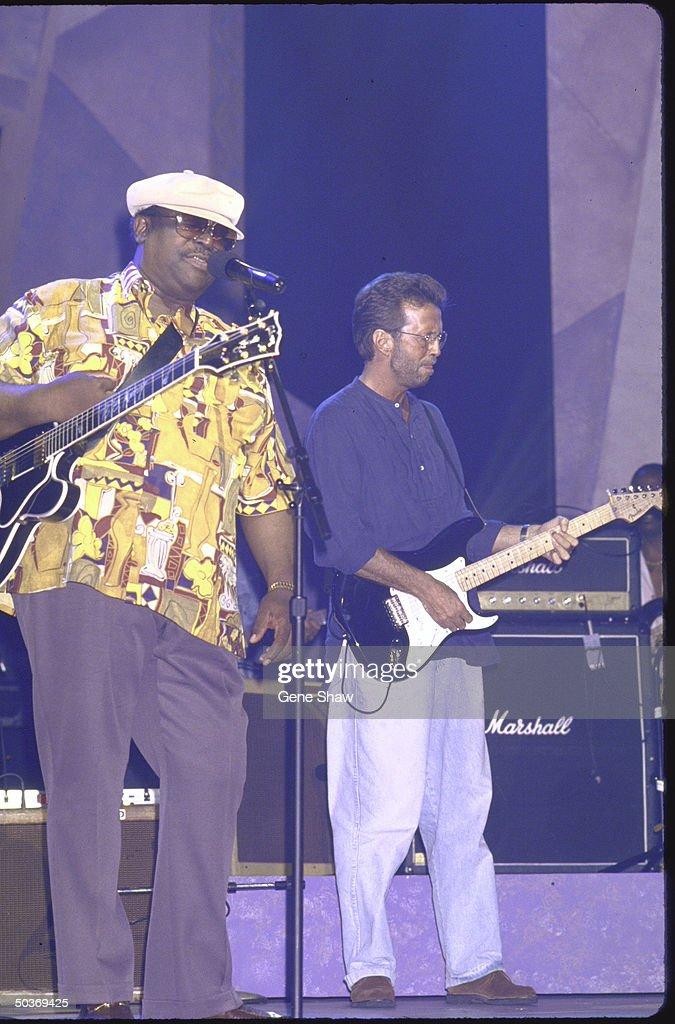 Eric Clapton;B. B. King : News Photo