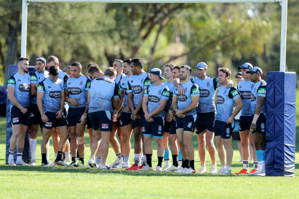 AUS: New South Wales Blues Training Session
