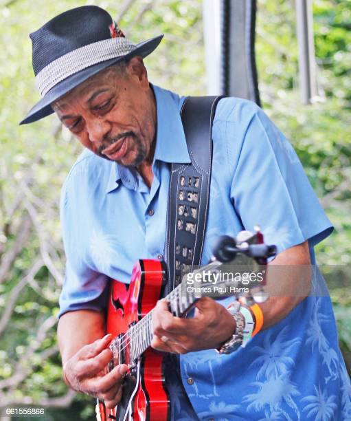 Blues / r&b singer and guitarist John Primer performs at the Chicago Blues Festival. JUNE 12, 2016 in Chicago, Illinois.