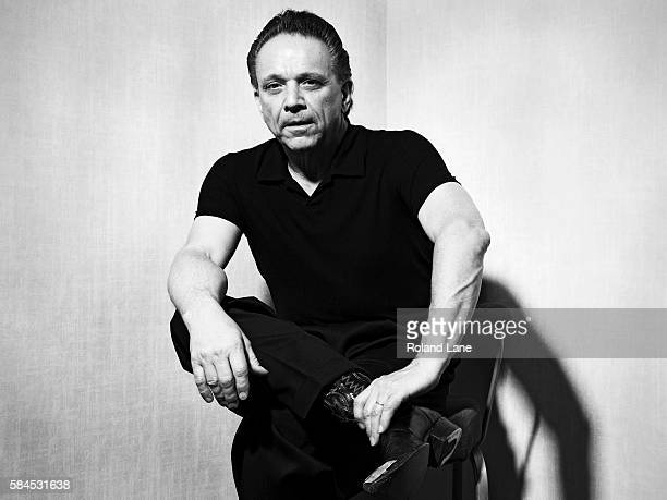 Blues rock guitarist and singer Jimmie Vaughan is photographed on June 4 2010 in London England