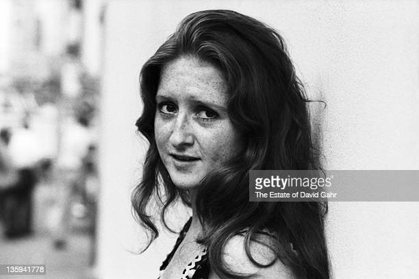Blues singer Bonnie Raitt poses for a portrait in July 1972 in New York City New York