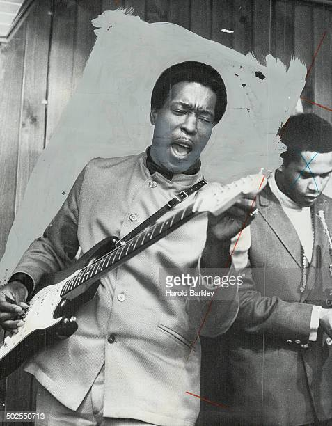 Blues Singer Buddy Guy Pays tribute to Muddy Waters at the Rock pile