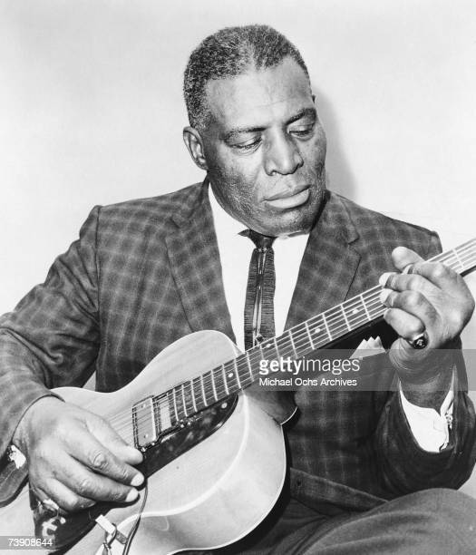 Blues singer Howlin' Wolf poses for a portrait circa 1955 in Chicago Illinois.
