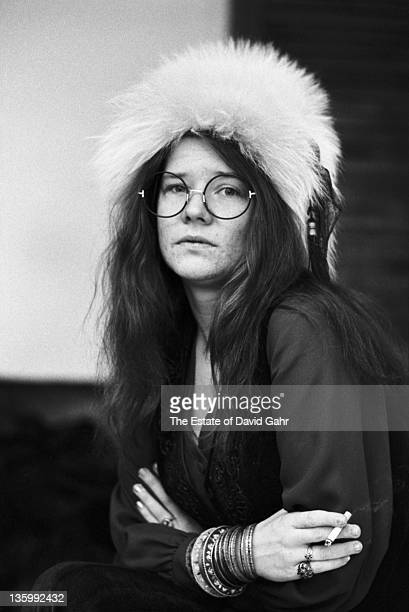 Blues singer Janis Joplin at the Chelsea Hotel in March 1969 in New York City New York