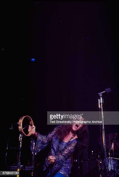 Blues singer Janis Joplin performs at the Winterland Ballroom in San Francisco