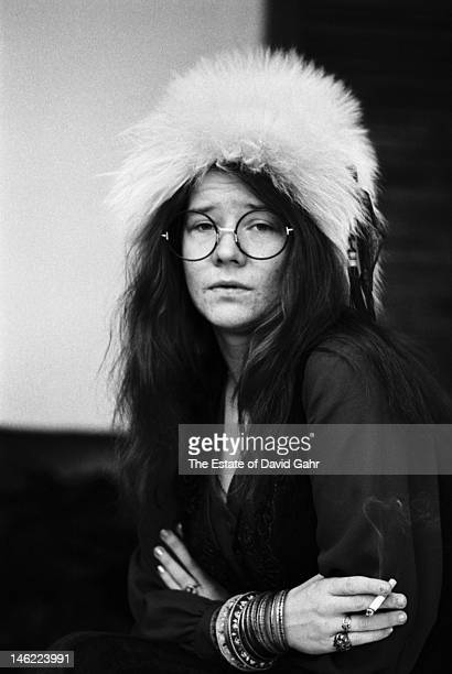 Blues singer Janis Joplin poses for a portrait on March 3 1969 at the Chelsea Hotel in New York City New York