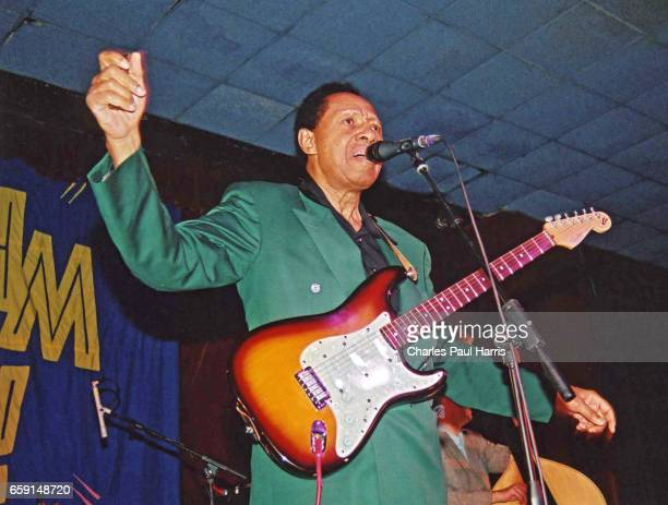 Blues songwriter, singer and guitarist Billy Boy Arnold performs at the Rhythm Riot weekender. NOVEMBER 16, 2012 at Camber Sands, East Sussex,...