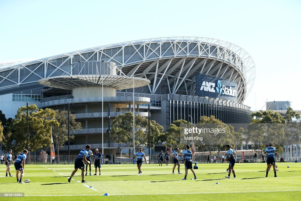 New South Wales Blues Training & Media Session : News Photo