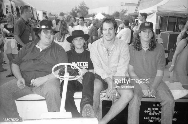 Blues Traveler poses for a portrait at the HORDE Festival at the Blockbuster Pavilion in San Bernardino California on July 27 1996